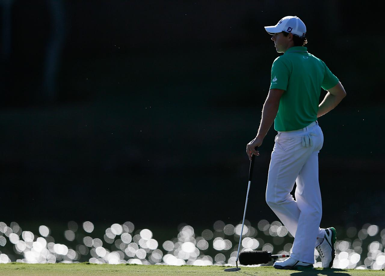 ATLANTA, GA - SEPTEMBER 23:  Rory McIlroy of Northern Ireland waits on the 17th green during the final round of the TOUR Championship by Coca-Cola at East Lake Golf Club on September 23, 2012 in Atlanta, Georgia.  (Photo by Kevin C. Cox/Getty Images)