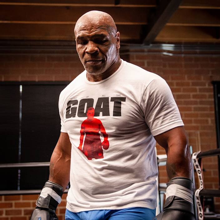 Mike Tyson became the youngest heavyweight champion at age 20 in 1986. Now he's returning to the ring.