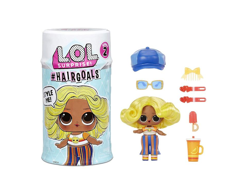 LOL Surprise! hairgoals, surprise doll with brushable hair: Was £18.99, now £8.99, Amazon.co.uk (Amazon)