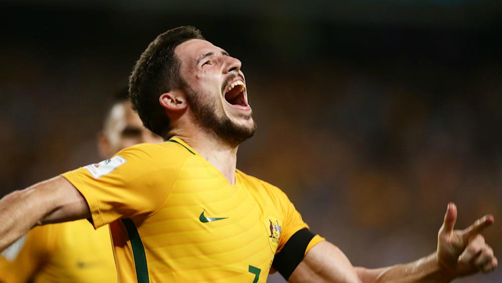 Mathew Leckie Australia v United Arab Emirates World Cup qualifying 28032017
