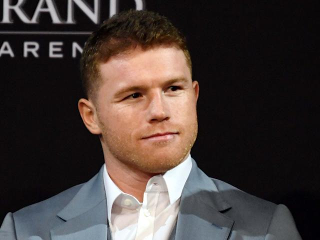 Canelo is set to snub a fight with Smith: Getty