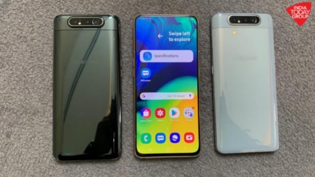 Samsung Galaxy A80 has been launched in India offering a notchless New Infinity AMOLED display, 48MP rotating triple camera system and Snapdragon 730G processor, among other things. Check out the Galaxy A80 price and specifications here.