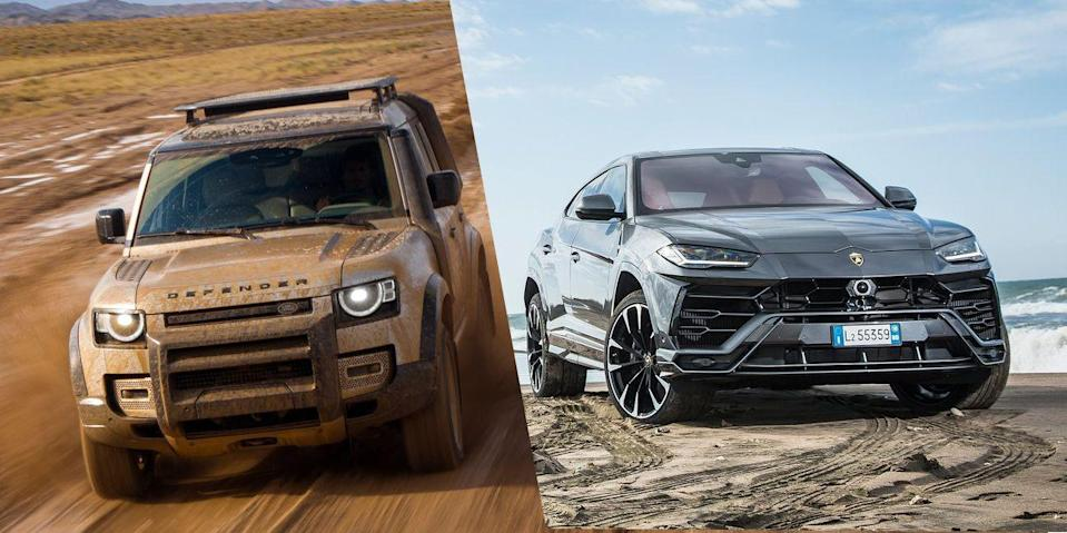 Photo credit: Land Rover/Lamborghini