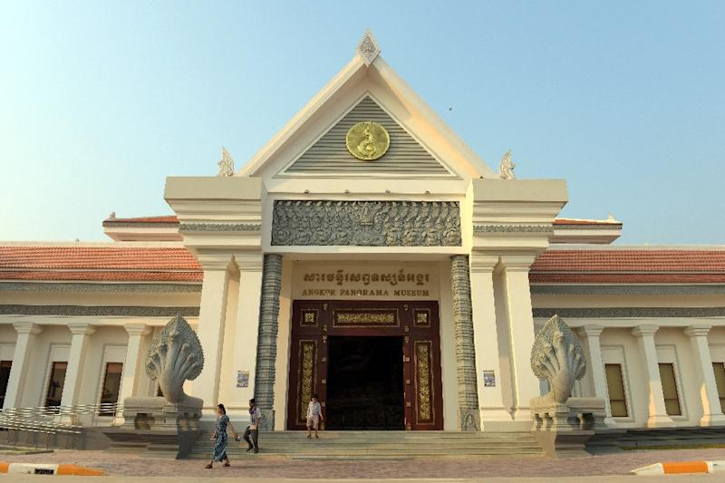 The Angkor Panorama Museum in Siem Reap province was built by North Korea (AFP Photo/Tang Chhin Sothy)