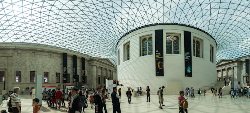The Great Court at the British Museum in London. (PicsFactory via Getty Images)