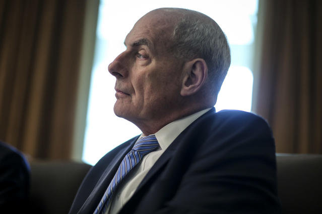 White House chief of staff John Kelly. (Photo: Oliver Contreras/Getty Images)