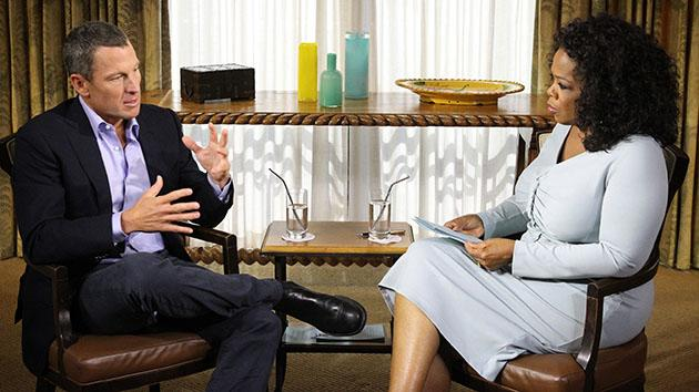 """""""Oprah's Next Chapter"""" -- Lance Armstrong"""