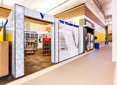 The Vitamin Shoppe has opened new shops within LA Fitness gyms.