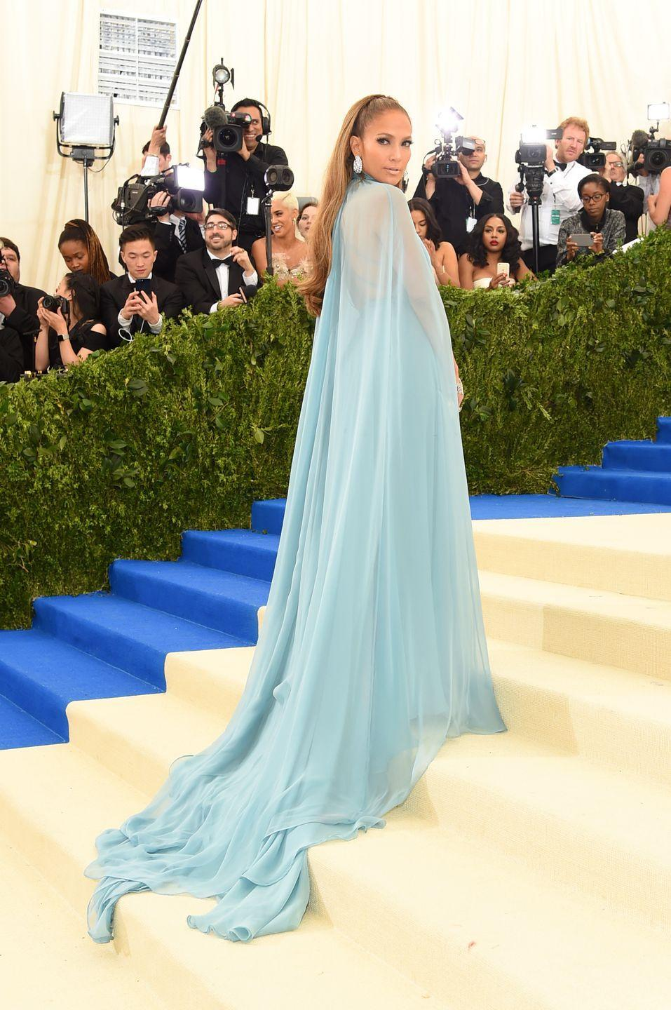 <p><strong>When: </strong>May 2017</p><p><strong>Where:</strong> The Met Gala</p><p><strong>Wearing: </strong>Valentino</p>
