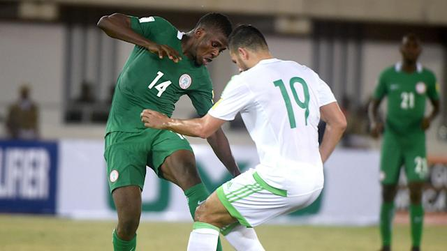 The Porto man denied the Super Eagles maximum points with a late penalty after John Ogu had opened the scoring with a beautiful strike