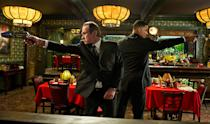 """Tommy Lee Jones and Will Smith in Columbia Pictures' """"Men in Black 3"""" - 2012"""