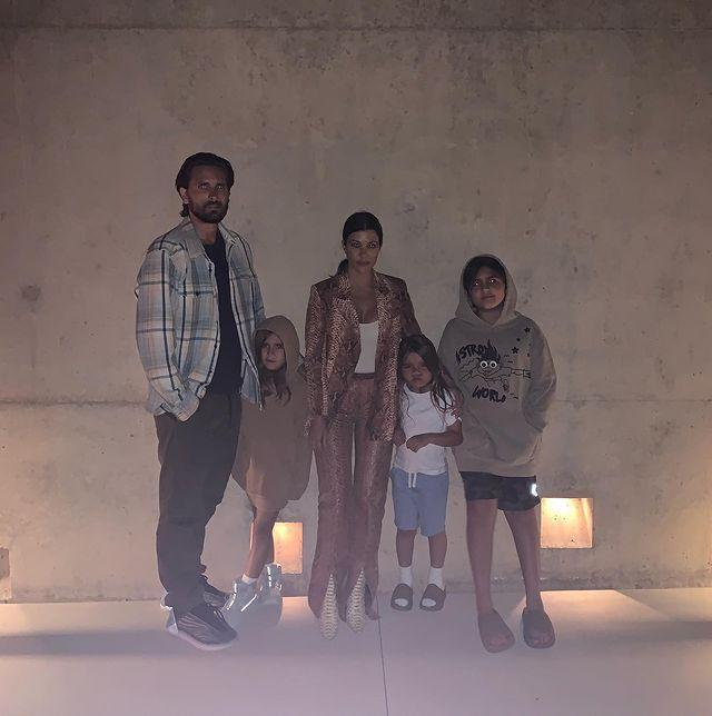"""<p>Kourtney Kardashian and Scott Disick are just one former couple suspected of shacking up together during quarantine. The parents of three ignited that rumor when they were seen<a href=""""https://www.dailymail.co.uk/tvshowbiz/article-8237343/Kourtney-Kardashian-ex-Scott-Disick-emerge-house-quarantine.html"""" rel=""""nofollow noopener"""" target=""""_blank"""" data-ylk=""""slk:leaving the same house together"""" class=""""link rapid-noclick-resp""""> leaving the same house together</a> shortly after her 41st birthday.</p><p><a href=""""https://www.instagram.com/p/CBuEoG8Fx8n/"""" rel=""""nofollow noopener"""" target=""""_blank"""" data-ylk=""""slk:See the original post on Instagram"""" class=""""link rapid-noclick-resp"""">See the original post on Instagram</a></p>"""