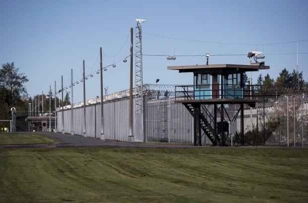 The Matsqui Institution, a medium-security federal men's prison, is seen in Abbotsford, B.C., on Thursday, October 26, 2017.