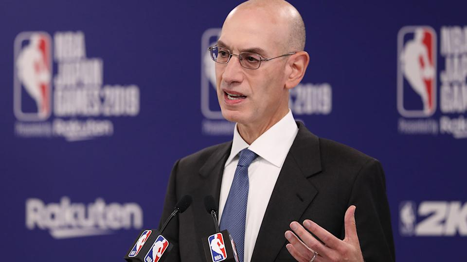 NBA commissioner Adam Silver says the league has suffered substantial losses from the China controversy.