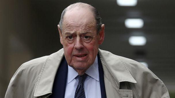 PHOTO: Conservative Member of Parliament Nicholas Soames walks in Westminster, in London, Sept 3, 2019. (Simon Dawson/Reuters)