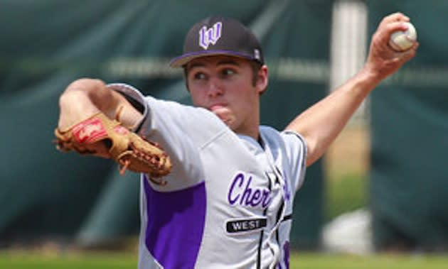 Cherry Hill West High pitcher Brenden DelMonte — Philly.com