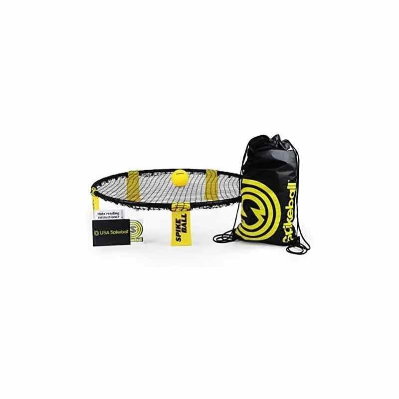 """<p><strong>Spikeball</strong></p><p>amazon.com</p><p><strong>$55.99</strong></p><p><a href=""""https://www.amazon.com/dp/B00STL38RE?tag=syn-yahoo-20&ascsubtag=%5Bartid%7C10072.g.32880344%5Bsrc%7Cyahoo-us"""" rel=""""nofollow noopener"""" target=""""_blank"""" data-ylk=""""slk:SHOP NOW"""" class=""""link rapid-noclick-resp"""">SHOP NOW</a></p><p>This circular net game has rules similar to volleyball, so you're guaranteed to get your sweat on. Set it up on your lawn, or bring it along on your next <a href=""""https://www.oprahmag.com/life/g27350645/beach-essentials/"""" rel=""""nofollow noopener"""" target=""""_blank"""" data-ylk=""""slk:beach trip"""" class=""""link rapid-noclick-resp"""">beach trip</a>. It folds up easily and comes with a tote that makes the game extremely portable. </p>"""