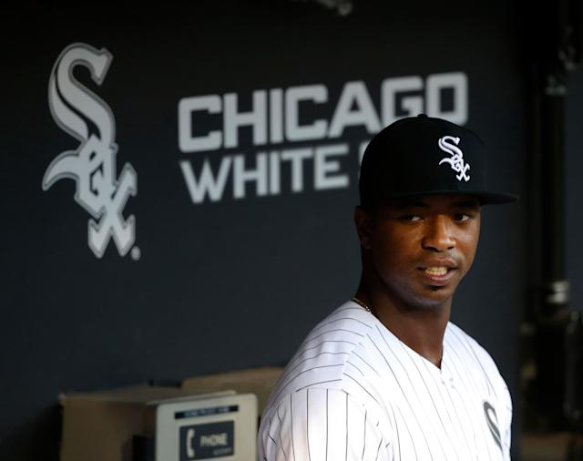Phenom Eloy Jimenez is coming, it's just a matter of when the Chicago White Sox call him up in 2019. (AP Photo/Charles Rex Arbogast)