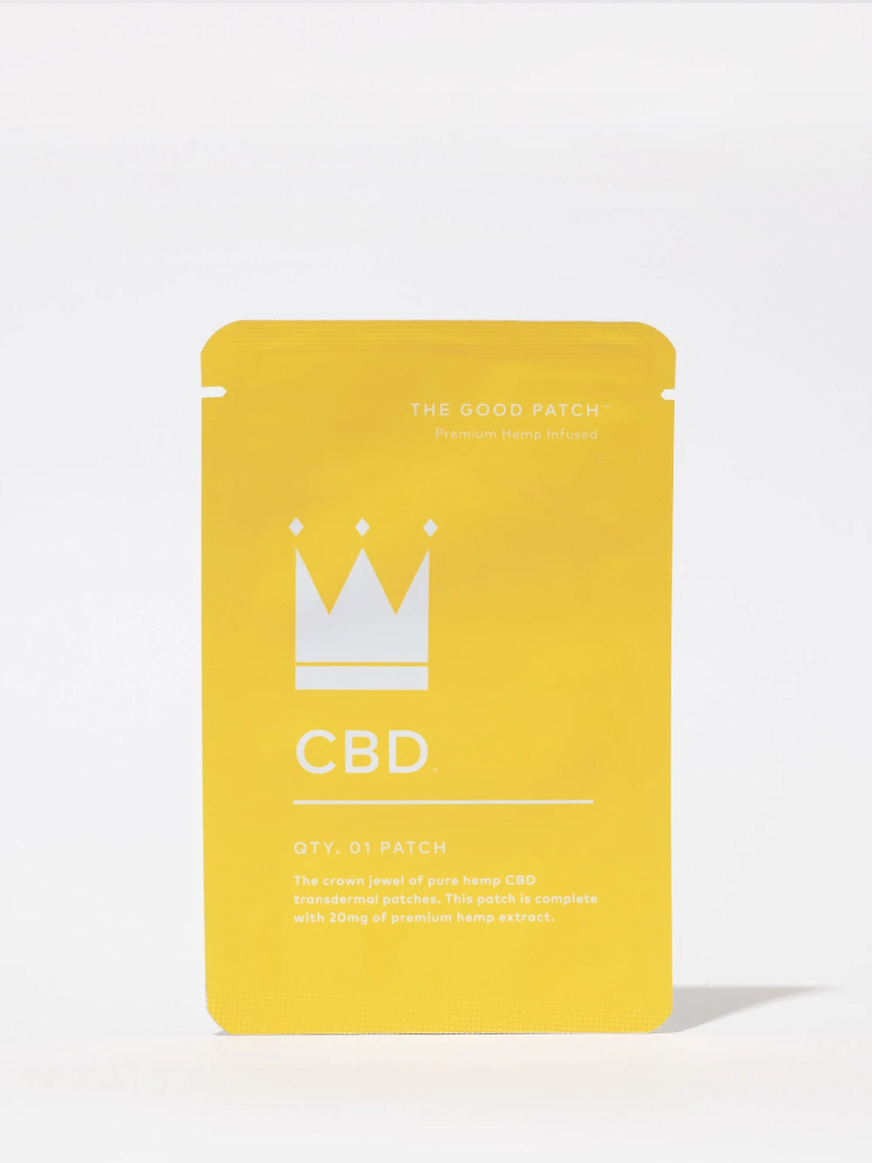 "<h3>The Good Patch CBD Patch<br></h3><br>These transdermal patches are made with 20 mg of organic CBD isolate.<br><br><strong>The Good Patch</strong> CBD Patch (4-Pack), $, available at <a href=""https://go.skimresources.com/?id=30283X879131&url=https%3A%2F%2Fstandarddose.com%2Fcollections%2Fthe-good-patch-by-la-mend%2Fproducts%2Fcbd-patch"" rel=""nofollow noopener"" target=""_blank"" data-ylk=""slk:Standard Dose"" class=""link rapid-noclick-resp"">Standard Dose</a>"