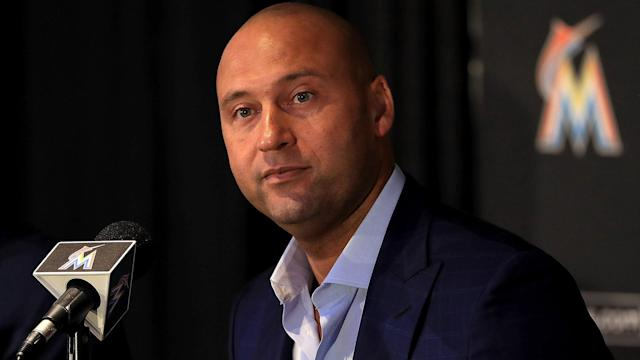 "Yahoo Sports' Jeff Passan and Mike Oz discuss a recent interview between Derek Jeter and Bryant Gumbel on HBO Real Sports. Subscribe to the Yahoo Sports MLB Podcast on <a href=""https://itunes.apple.com/us/podcast/yahoo-sports-mlb-podcast/id1364685293"" rel=""nofollow noopener"" target=""_blank"" data-ylk=""slk:Apple Podcasts"" class=""link rapid-noclick-resp"">Apple Podcasts</a>"