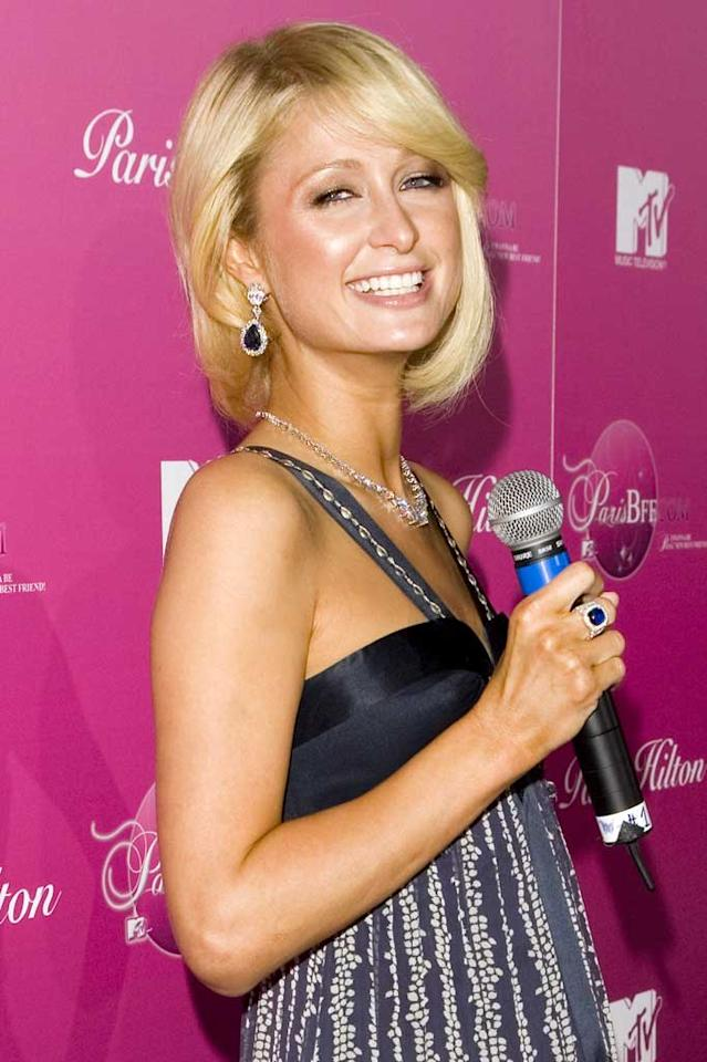 "Paris Hilton will be heading to the small screen as well. On Thursday, the hotel heiress announced her search for a new best friend, which will be documented in a MTV reality series. Chris Polk/<a href=""http://www.wireimage.com"" target=""new"">WireImage.com</a> - March 13, 2008"