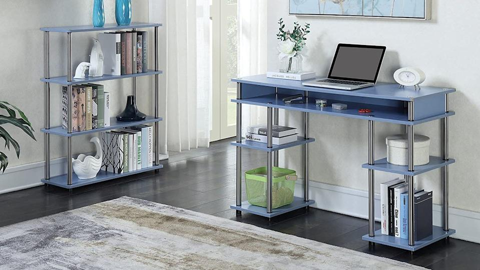 This desk is cute, highly rated and on sale.