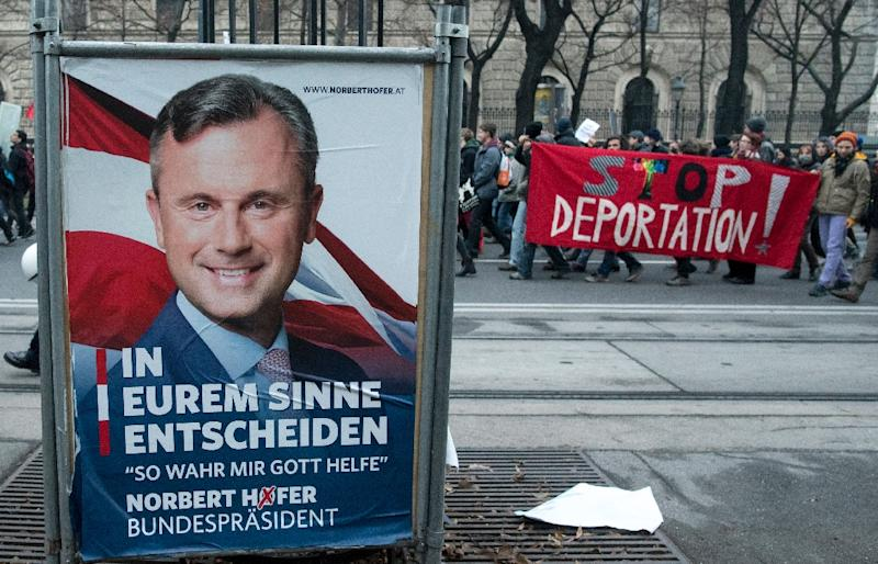 "Norbert Hofer's Freedom Party FPOe ""brings out the worst in people"", says 'Gertrude' (AFP Photo/Joe Klamar)"