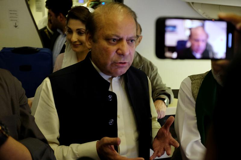 Pak Court Allows Ex-PM Sharif to Travel Abroad, Asks Imran Govt to Remove His Name from No-fly List