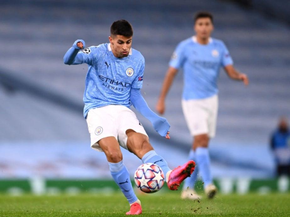<p>Man City's Joao Cancelo</p> (Getty Images)