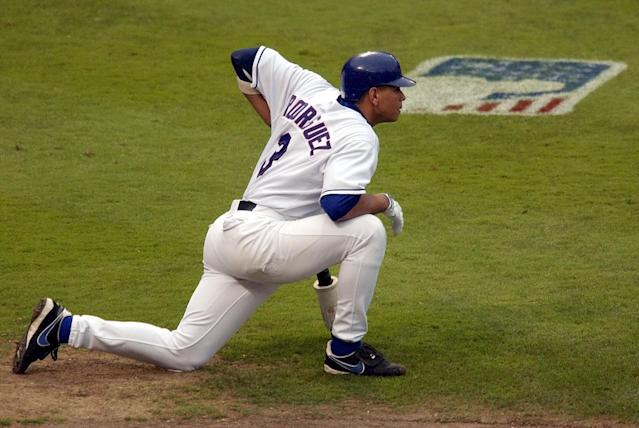 The Seattle Mariners drafted Alex Rodriguez in 1994. He spent several seasons as a Mariner before signing with the Texas Rangers in 2000 and then being traded to the Yankees. (AP)