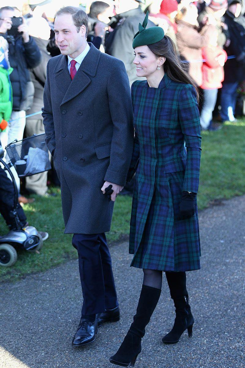 <p>The Duke and Duchess attended Christmas Day service at Sandringham. The Duchess wore a green hat and black boots to style her coat for the occasion. </p>