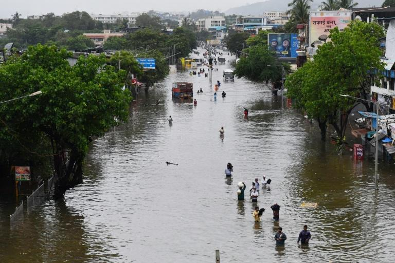 Flooding is common during India's monsoon season but climate change is making the monsoon stronger, according to a report from the Potsdam Institute for Climate Impact Research
