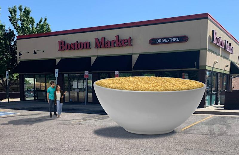 Boston Market is giving away 1 ton of mac and cheese