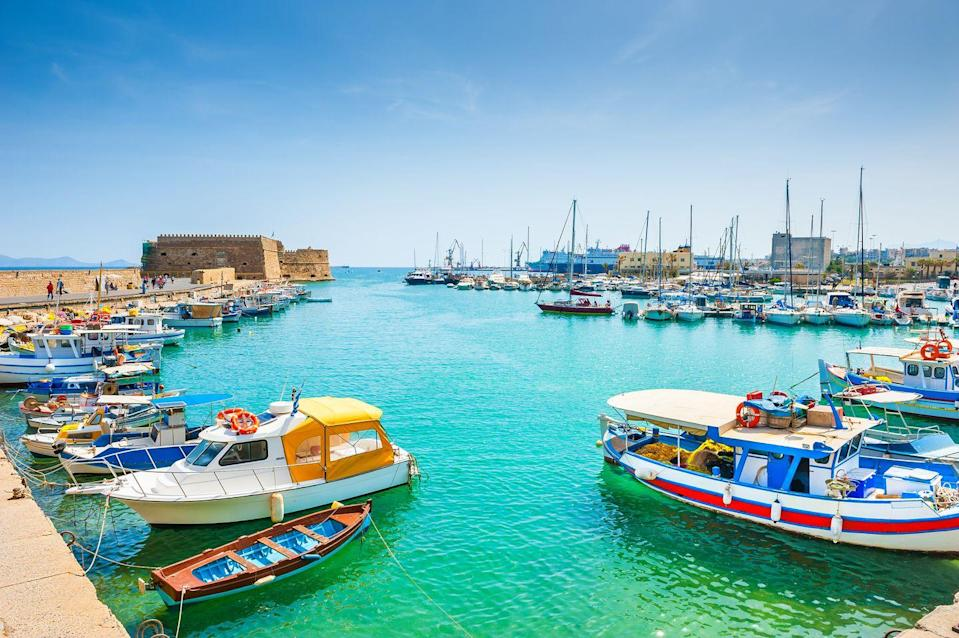 "<p>If sunning yourself on sandy beaches, strolling around old towns and feasting at local tavernas are your thing, you'll want to visit Crete when restrictions allow. </p><p>This gorgeous Greek island is home to the boutique Olive Green Hotel, where you can have a stylish stay in the capital Heraklion and easily reach the sites of Knossos and Phaistos.</p><p>During a summer holiday in Crete with Prima, you can spend four nights at the four-star hotel with flights and transfers, relax with a spa treatment, enjoy an escorted walking excursion and complimentary room upgrade from £799 per person. </p><p><strong>When? </strong>Between 21st June and 31 October 2021</p><p><a class=""link rapid-noclick-resp"" href=""https://www.primaholidays.co.uk/offers/greece-crete-heraklion-spa-holiday"" rel=""nofollow noopener"" target=""_blank"" data-ylk=""slk:FIND OUT MORE"">FIND OUT MORE</a></p>"