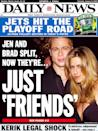 <p>Pitt and Aniston announced in January 2005 that they were separating among rampant rumors that he and <em>Mr. and Mrs. Smith</em> costar Angelina Jolie were having an affair. </p>