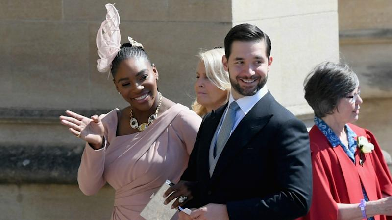 Serena Williams Arrives to Support Pal Meghan Markle at Royal Wedding