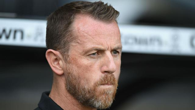 Gary Rowett has asked Derby County for permission to begin talks with Stoke City over the manager's role at bet365 Stadium.
