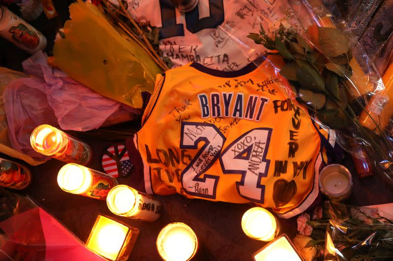 Kobe Bryant autograph on last game court piece hits auction block