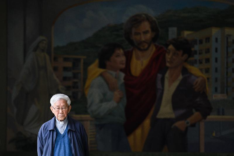 Zen's latest cause goes to the heart of his beliefs about the Catholic Church and what it should represent (AFP Photo/Anthony WALLACE)