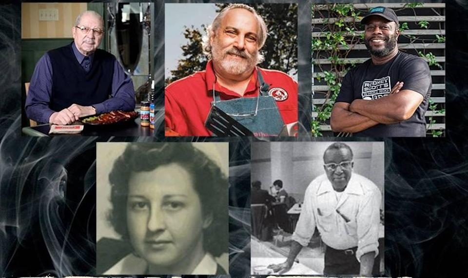 The American Royal Association of Kansas City inducted into its hall of fame Ollie Gates, Meathead Goldwyn, Rodney Scott, Lyttle Brides and Arthur Bryant.