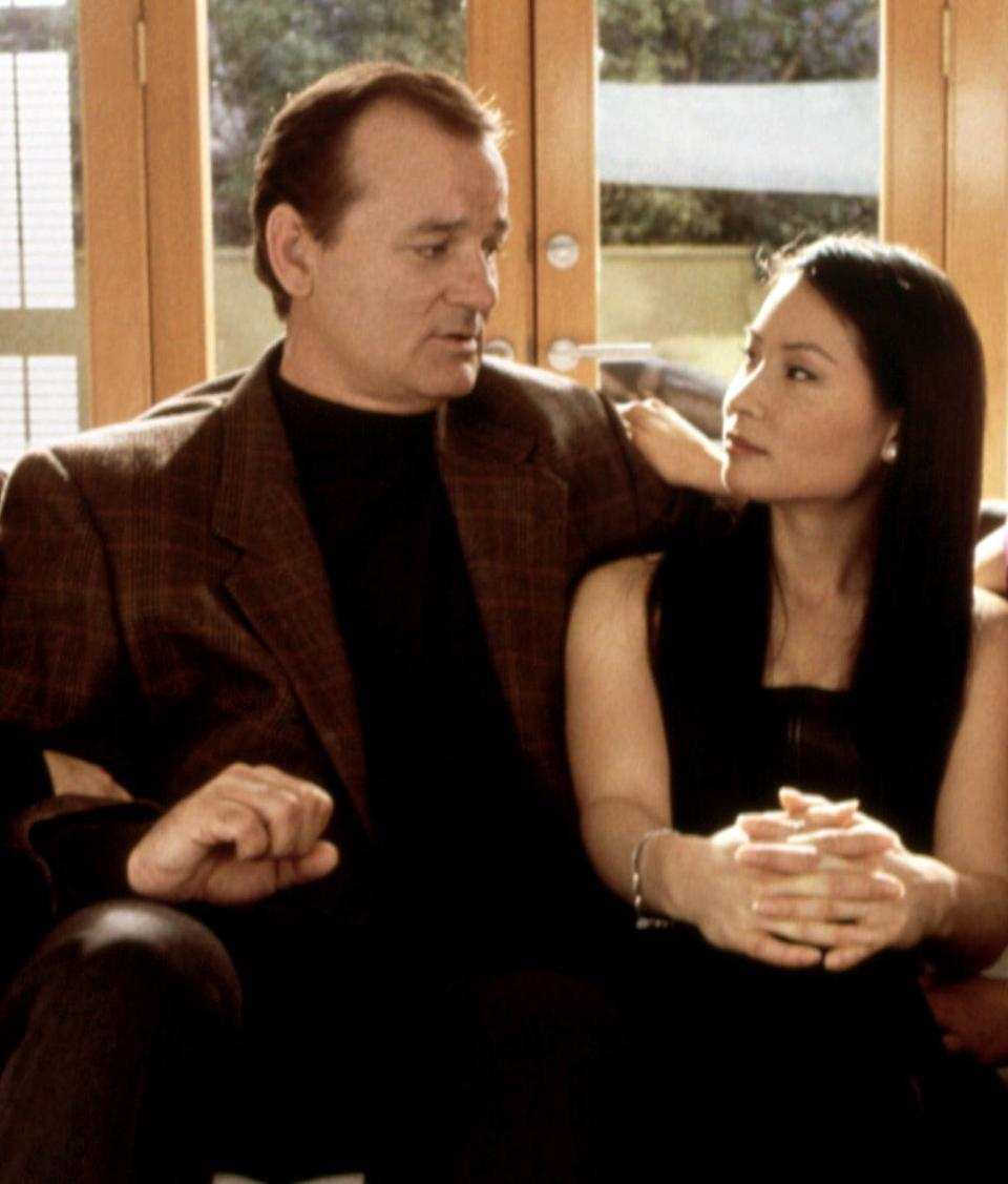 Bill Murray pictured with Lucy Liu