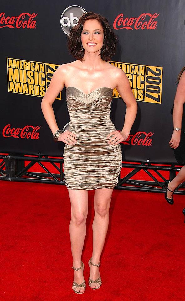 "It's never a good thing when your skin is more reflective than your dress, as actress Chyler Leigh proves. Steve Granitz/<a href=""http://www.wireimage.com"" target=""new"">WireImage.com</a> - November 18, 2007"