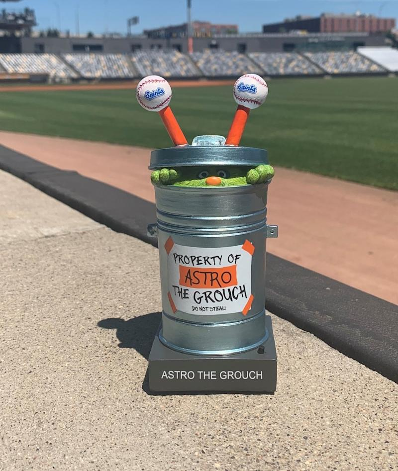 Astro the Grouch bobblehead