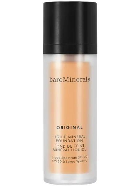 <p>The <span>BareMinerals Original Liquid Mineral Foundation Broad Spectrum SPF 20</span> ($35) goes on superthin and leaves a natural, breathable finish. It also contains SPF 20 to help protect your skin against sun damage.</p>