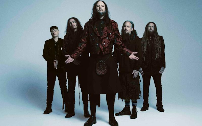 Korn in 2019 - Roadrunner Records