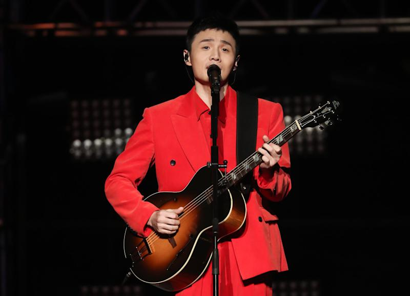 Chinese singer Li Ronghao is coming to Singapore in October. (PHOTO: G.H.Y. Culture & Media)