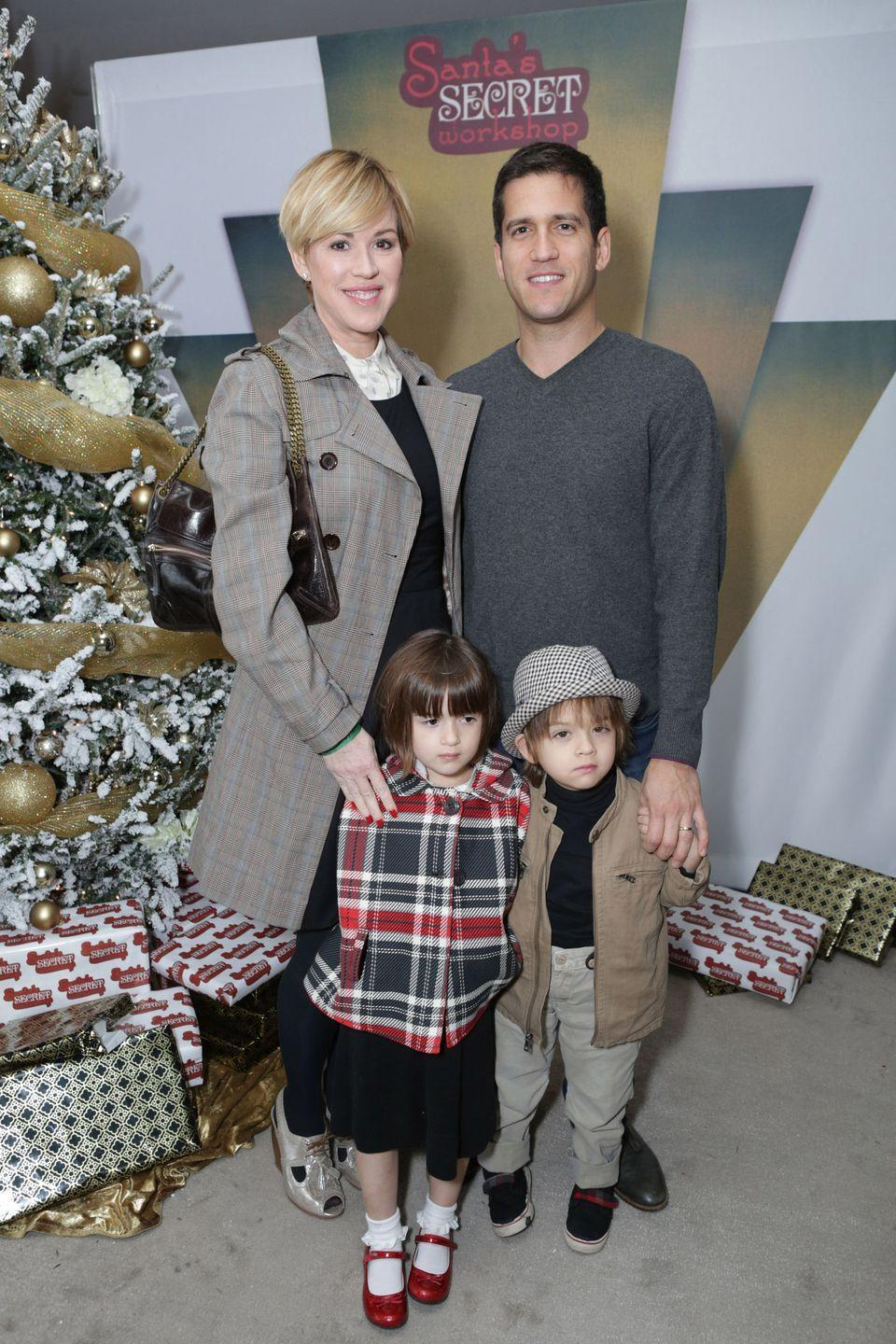 "<p>Molly Ringwald and husband, Panio Gianopoulos, welcomed twins Adele and Roman in 2009, when the actress was 41. Ringwald had previously given birth to daughter, Mathilda, in 2003, but as Ringwald told <a href=""http://celebritybabies.people.com/2009/08/07/molly-ringwald-introduces-twins-adele-and-roman/"" rel=""nofollow noopener"" target=""_blank"" data-ylk=""slk:People"" class=""link rapid-noclick-resp""><em>People</em></a>, the second attempt at pregnancy was a bit more difficult. ""After Mathilda was born, I had some things fixed""—surgery to remove fibroids—""that made it easier to get pregnant again,"" she explained. ""There were some other issues, too. But I was so, so lucky to be 41 and to be so healthy during this pregnancy.""</p>"