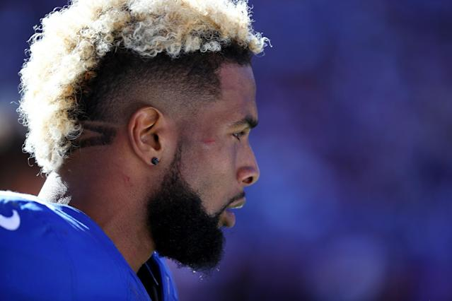 Odell Beckham Jr. will reportedly average $5 million annually during his new five-year deal with Nike. (Getty)