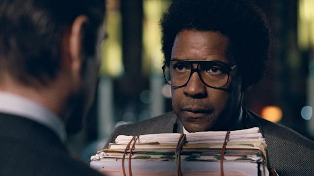 """Denzel Washington hastwo wins and five additional nominations to his name, making him one of the Oscars' most reliable fixtures. Playing a crusading lawyer with compulsive tics,Washington's performance in the uneven """"Roman J. Israel, Esq."""" is more mannered than most of his previous work. It's unlike anything the actor has done, which isn'tentirely a compliment.But given Washington's track record, this actorlybout could provide his eighth nomination."""