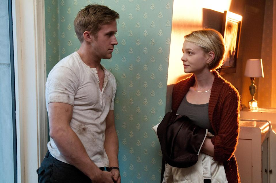 "<p>Let Ryan Gosling's good looks soothe you with <em>Drive</em>. He plays a Hollywood stunt driver who falls for his neighbor (Carey Mulligan). When her no-good husband is released from prison, Gosling's character is enlisted in a dangerous heist. We'll refrain from any more spoilers, but this thriller is definitely worth watching. </p> <p><a href=""https://www.netflix.com/title/70189289"" rel=""nofollow noopener"" target=""_blank"" data-ylk=""slk:Available to stream on Netflix."" class=""link rapid-noclick-resp""><em>Available to stream on Netflix.</em></a></p>"